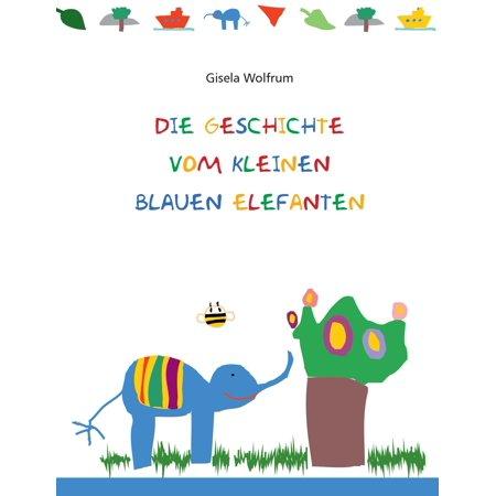 Die Geschichte vom kleinen blauen Elefanten - eBook - Die Kleinen Einsteins Halloween