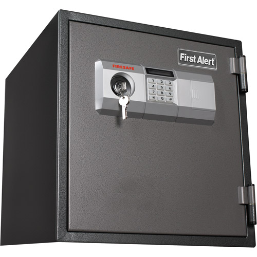 First Alert 2084DF 1.2 Cubic Foot Steel Fire/Anti-Theft Digital Safe