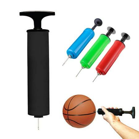 Soccer Ball Balloons (96 Pump Air Inflator Needle Handheld Party Balloon Basketball Soccer Volley)