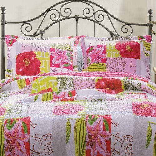 Greenland Home Fashions San Marino Love Letters Pillow Sham