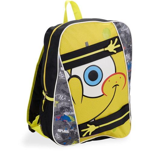 "Spongebob Velcro Arms 16"" Backpack"