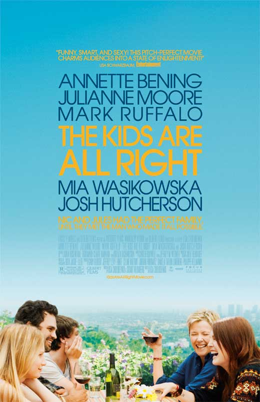 The Kids Are All Right (2010) 27x40 Movie Poster by Pop Culture Graphics