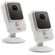 Q-See 4K Ultra HD Smart Home Cube Camera, White