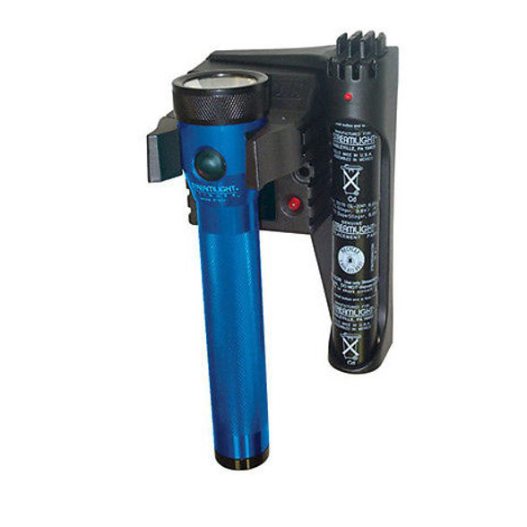 Streamlight 75073 Stinger Rechargeable Flashlight with Extra Battery and Piggyback Charger (Blue)