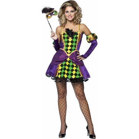 Women's Mardi Gras Queen Costume ()