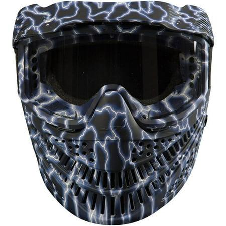Paintball Headgear - JT Raptor LTD Goggles, Blue Lightning