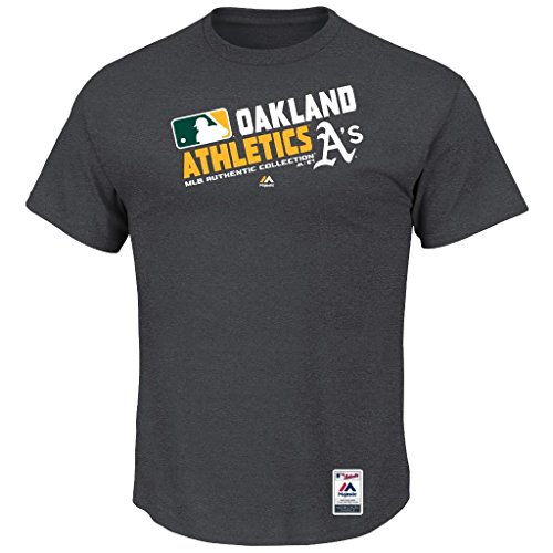 MLB Men's Authentic Collection Team Choice T-Shirt (XXlarge, Oakland Athletics A's)