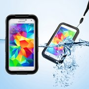 GEARONIC Waterproof Shockproof Dirt Snow Proof Durable Case Cover for Samsung Galaxy GALAXY S5 SV i9600
