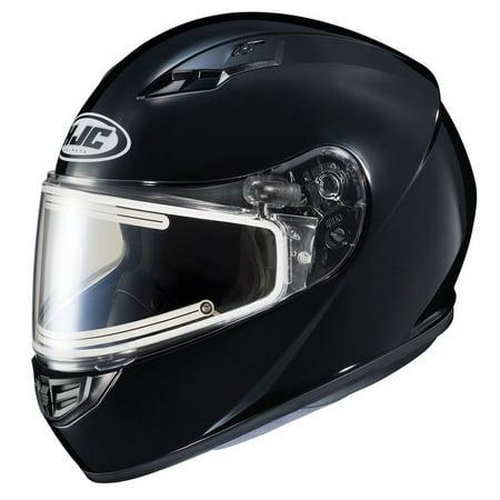 (HJC CS-R3 Solid Snow Helmet w/Electric Shield Gloss Black)