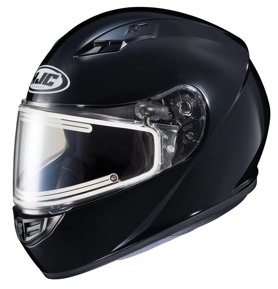 HJC CS-R3 Solid Snow Helmet w/Electric Shield Gloss Black