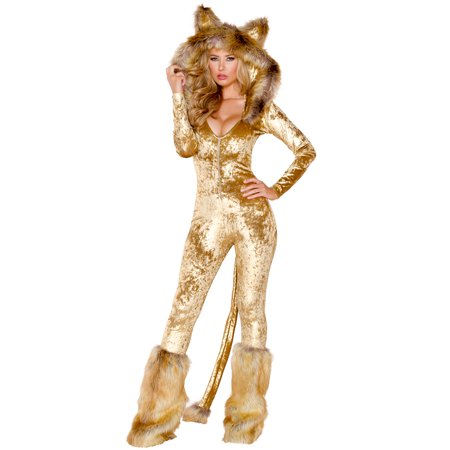 Deluxe Lion Costume, Cowardly Lion Costume (Plus Size Cowardly Lion Costume)