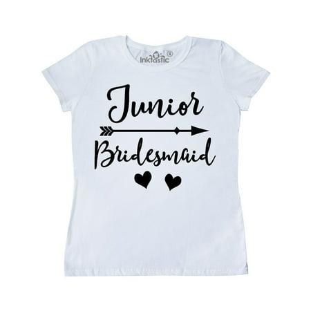 Junior Bridesmaid Wedding Bridal Party Gift Women's T-Shirt](Junior Bridesmaid Gifts)