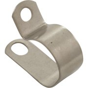 """P-Clip, Aqua Products, 11/16"""", Stainless steel"""