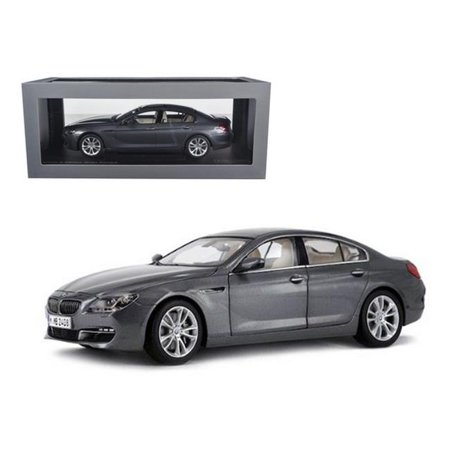 BMW 650i Gran Coupe 6 F06 Series Space Grey 1/18 Diecast Car Model by (Bmw 4 Series Gran Coupe Cargo Space)