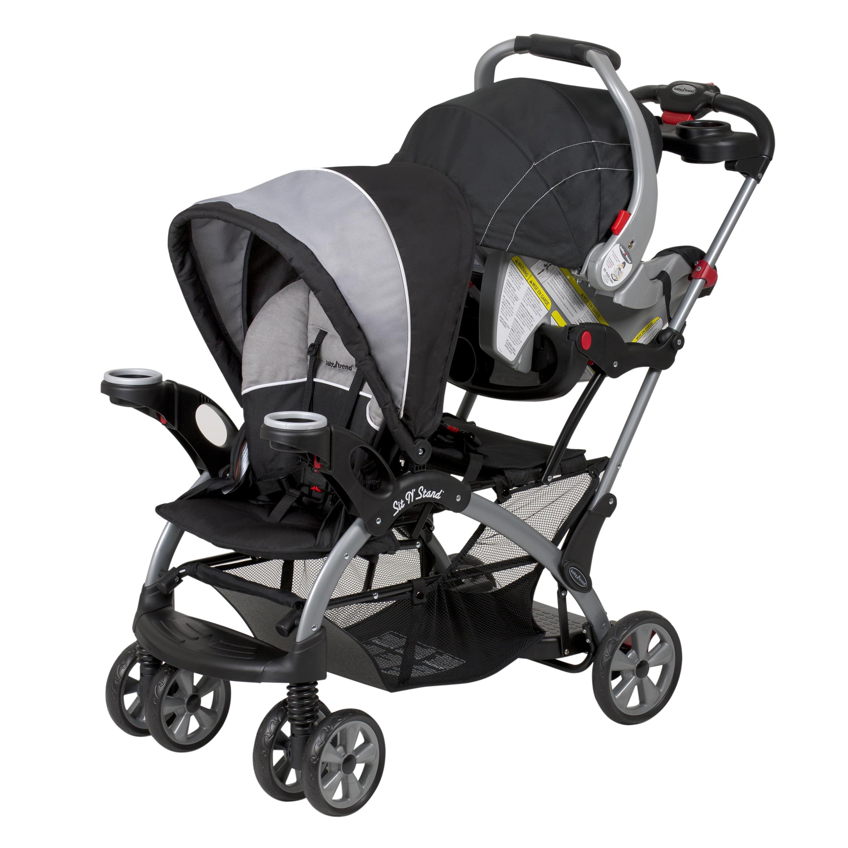 Baby Trend Sit N Stand Ultra Stroller Phantom Walmart Com