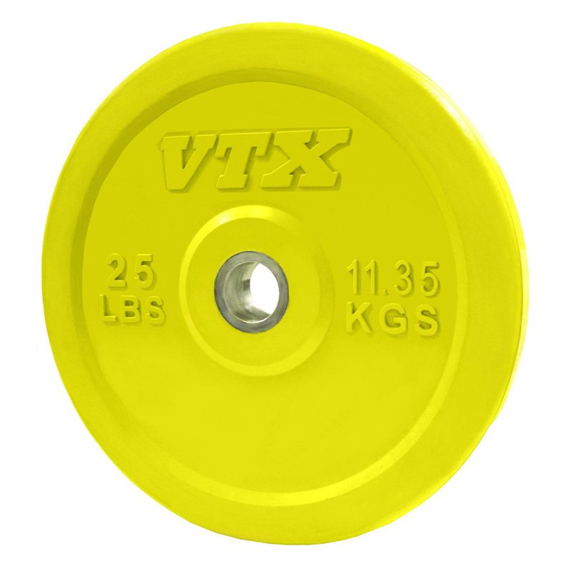 VTX by Troy Barbell Solid Rubber Colored Bumper/Training Plate