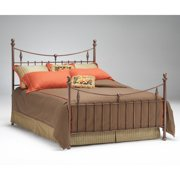 Bernards Penny Antique Copper Headboard