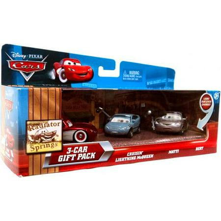 Radiator Springs 3-Car Gift Pack Diecast Car Set Cruisin' Multi-Packs (Mattel Radiator Springs)