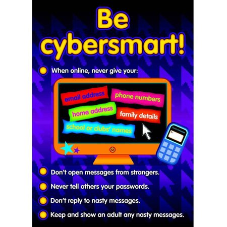 Didax Bullying Posters In A Cyber World, 17