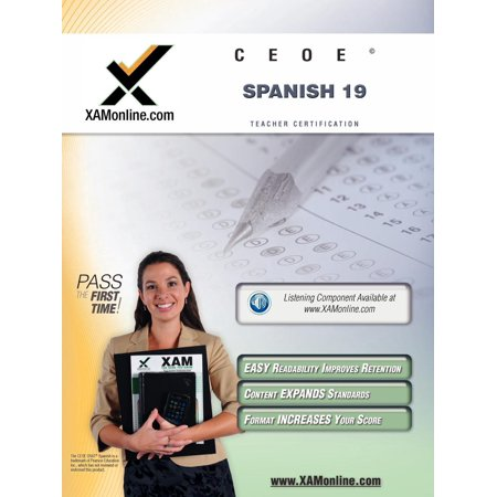 Ceoe Osat Spanish 19 Teacher Certification Test Prep Study Guide ...