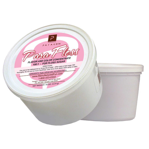 Paragon International 16 oz. ParaFloss Sugar Tub