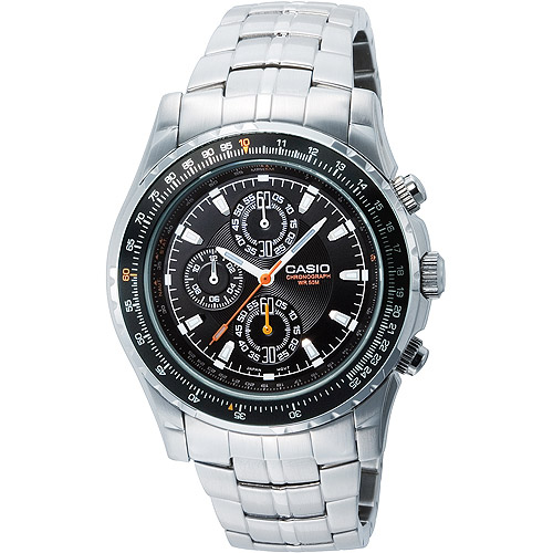 Casio Chronograph Aviator Watch by Casio