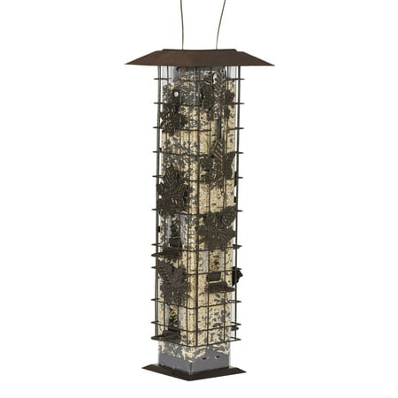 Squirrel Proof Bird Feeder (Perky-Pet 2 lb Squirrel-Be-Gone Wild Bird Feeder )