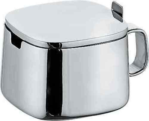 Alessi Kristiina Lassus Design Series Stainless Steel Sugar Bowl by
