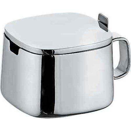 Alessi Kristiina Lassus Design Series Stainless Steel Sugar Bowl