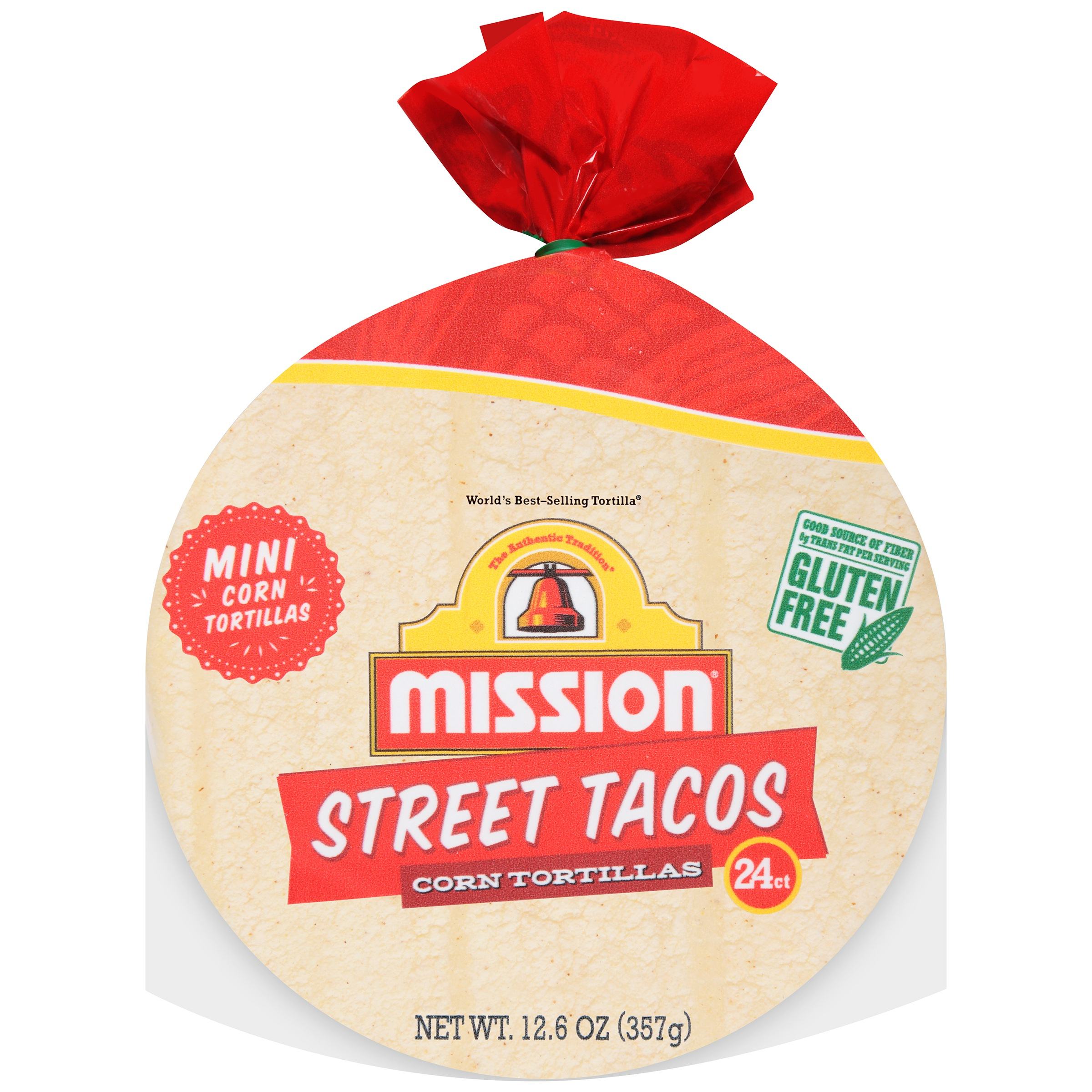 Mission® Street Tacos Corn Tortillas 24 ct Bag