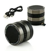 Camera Lens Shaped Mini Super BASS Portable Bluetooth Wireless Nano Speaker Handsfree For iPhone Samsung Tablet PC