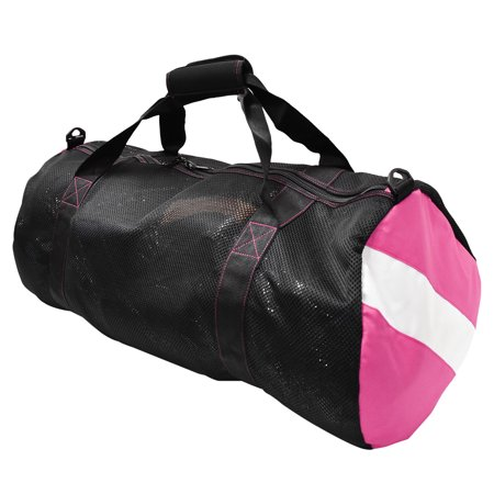 Scuba Choice Collapsible Mesh Duffle Bag for Dive Equipment w/Shoulder Strap, (9 Scuba Equipment)