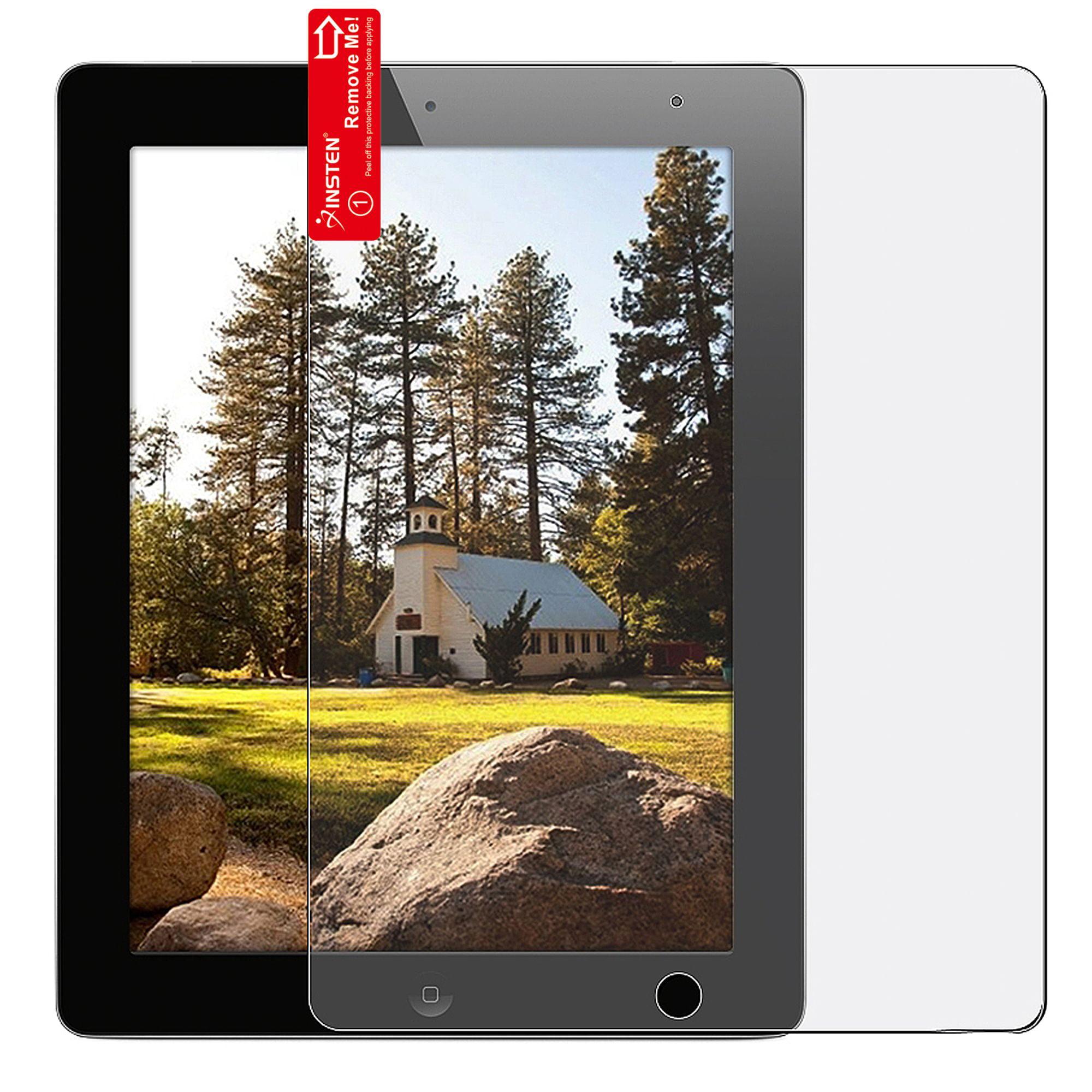 Insten Reusable Anti-Glare Screen Protector For Apple iPad 2 / 3 / 4