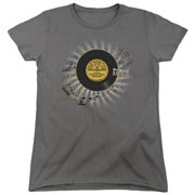 Sun Records Established Womens Short Sleeve Shirt