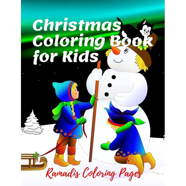 Christmas Coloring Book For Kids Christmas Coloring Pages For Kids Activity Book With Coloring Bible Word Search And Sudoku Amazing And Fun Houers 8 5 X 11 Inch Paperback Walmart Com Walmart Com
