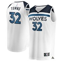 Karl-Anthony Towns Minnesota Timberwolves Fanatics Branded Youth Fast Break Replica Jersey White - Association Edition