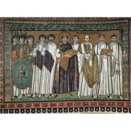 Framed Art for Your Wall Meister von San Vitale in Ravenna - Chor Mosaics in San Vitale in Ravenna, scene [3] 10 x 13 Frame