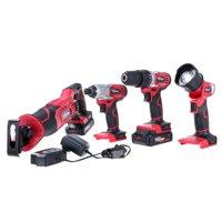 Hyper Tough Ht 20-Volt 4-Tool Combo Kit AQ90146G