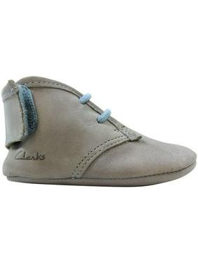 Clarks Baby Warm Med Pale Blue 26104023 Toddler Size 0C Medium