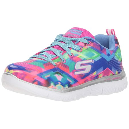 skechers kids girls skech appeal 2.0 sneaker, blmt, little ()