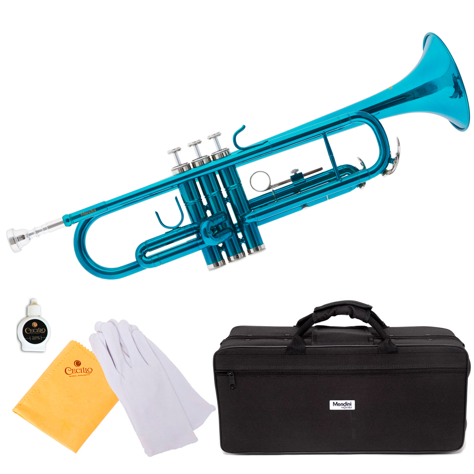 Windsor Student Bb Trumpet Outfit Including Case MI-1001