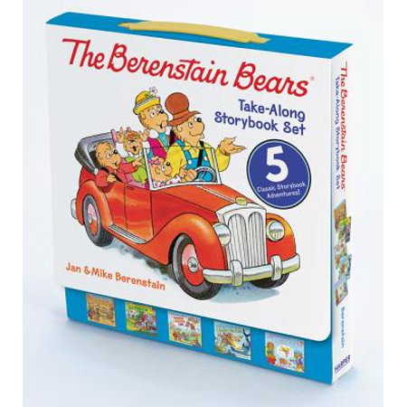 Berenstain Bears: The Berenstain Bears Take-Along Storybook Set (Paperback) for $<!---->