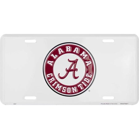 Alabama (Univ. Of Alabama) embossed metal auto tag
