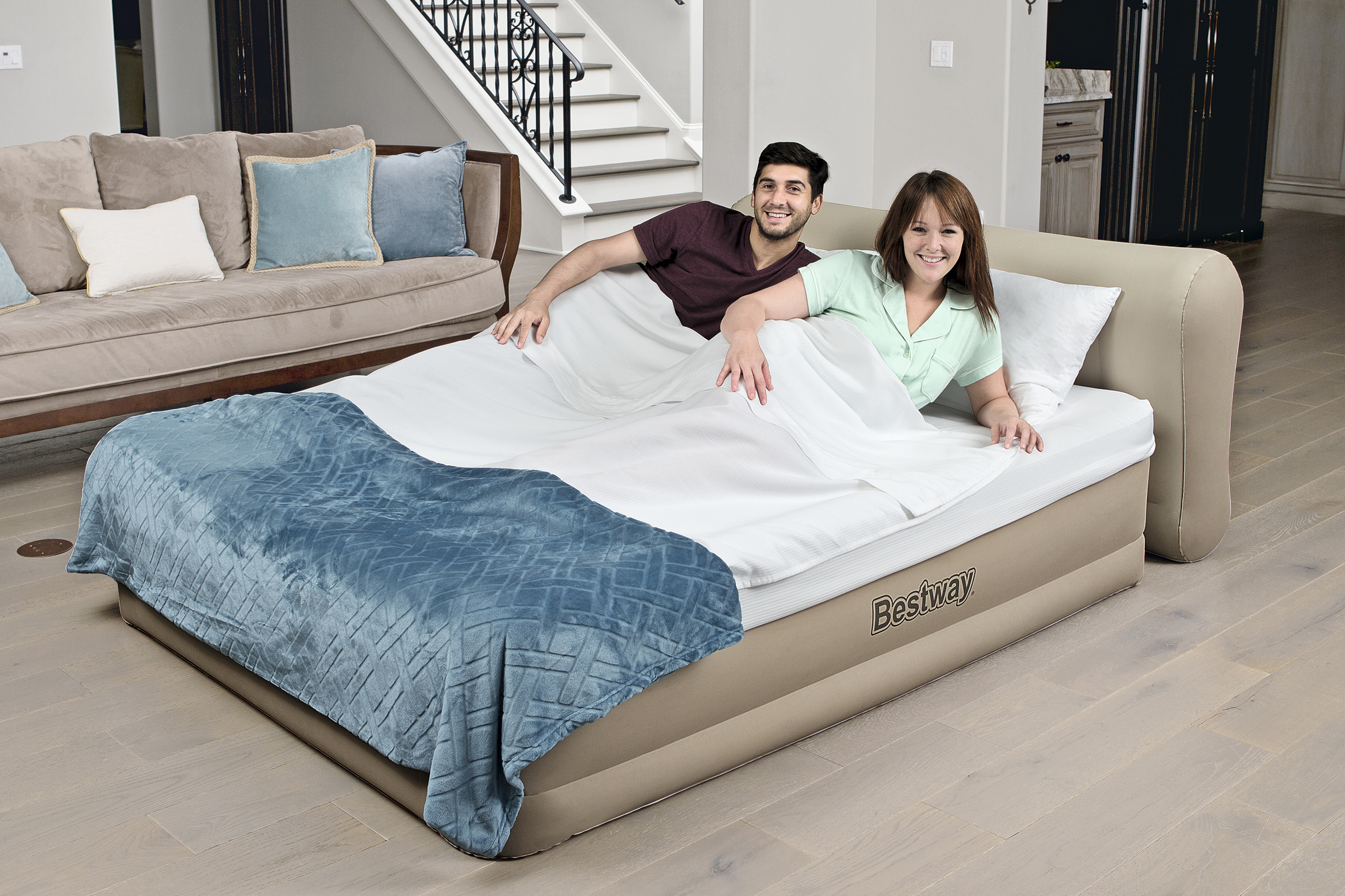 free pump mattress built frame queen product in with shipping raised air comfort sleep black sports toys today overstock deep