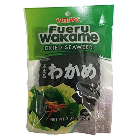 Fueru Wakame Dried Seaweed 1 Pack of 2oz (2 Pack) (Dried Seaweed)