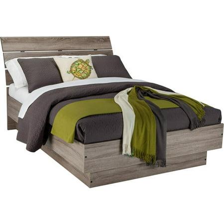 Laguna Queen Bed With Headboard, Truffle - Walmart.com