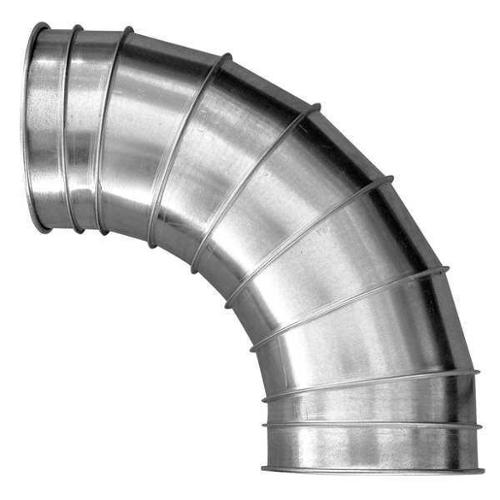 "NORDFAB 6"" Round 45 Deg. Elbow Duct Fitting, 24 ga., 3210-0645-106000"