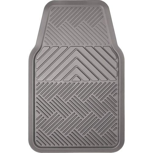 Remington Industries 1pc All-Weather Front Mat, Gray