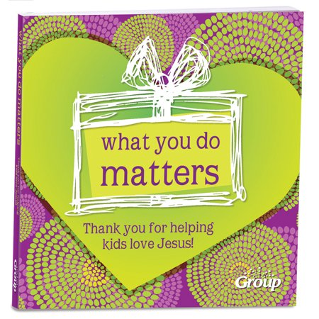 What You Do Matters : Thank You for Helping Kids Love Jesus!](Jesus Loves You In Spanish)