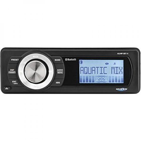 Aquatic AV AQ-MP-5BT-H Factory Harley Davidson Replacement AM/FM Radio with Bluetooth & MP3 Media Player (Mp3 Mobile Media)